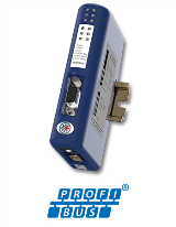Шлюз Anybus Communicator Profibus DP - RS232/485/Modbus-RTU Master
