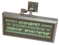 migra SI - текстовое табло (дисплей)