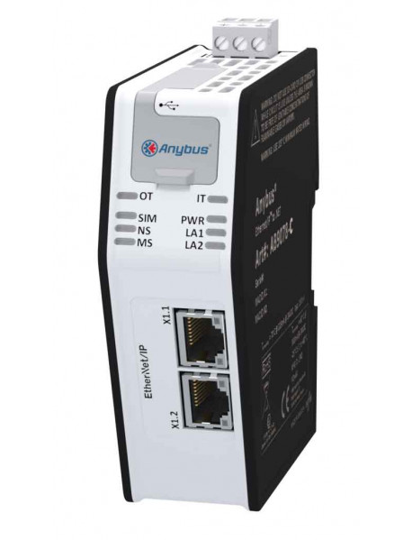 Шлюз Anybus Ethernet/IP to .NET
