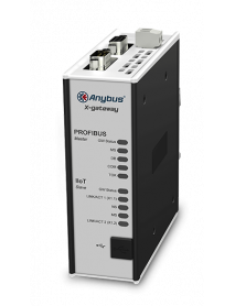 Шлюз Anybus X-gateway IIoT – PROFIBUS Master - OPC UA-MQTT