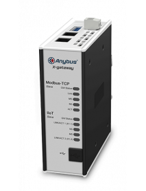 AB7555 Шлюз Anybus X-gateway IIoT – Modbus TCP Server - OPC UA-MQTT