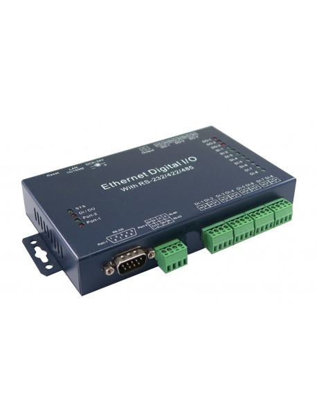 E-P732-X-DIO83 преобразователь RS-232/422/485/DIO - Ethernet