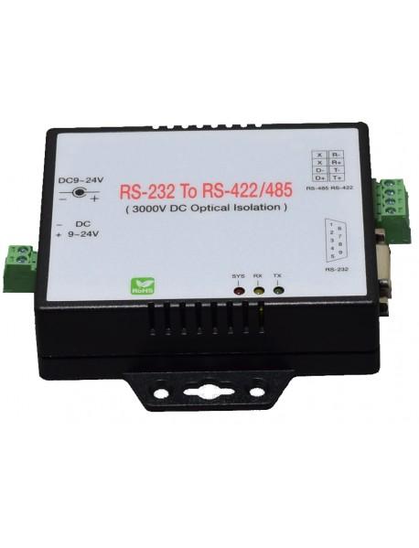 SC-101-I преобразователь RS-232 - RS-422/485с защитной изоляцией 3000В