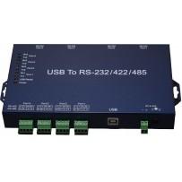 US-401-I 4-портовый преобразователь USB - RS-232/422/485