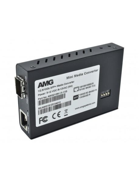 AMG210-1X Медиаконвертер 10GE