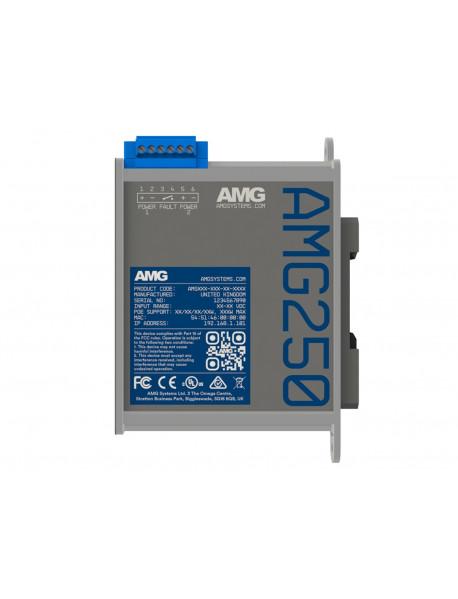 AMG250 Медиаконвертеры 1FE/GE + 1SFP с возможностью поддержки PoE