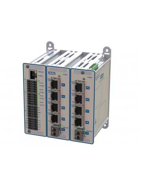 Управляемые GE коммутаторы L2 с I/O контактами, Serial портами и поддержкой PoE