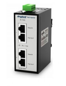 AWB4006 Anybus PoE Injector 12-57VDC