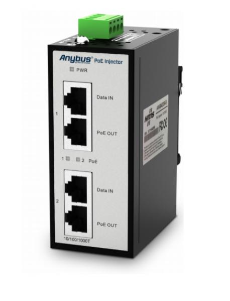 AWB4006 Anybus PoE Инжектор 12-57VDC