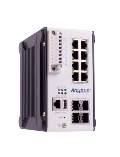 (AWB5011) 8GTX+4SFP Управляемый L3 коммутатор Anybus