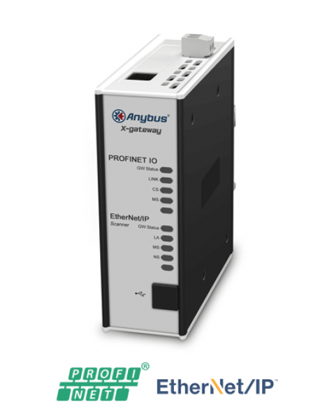 AB7670 EtherNet/IP Scanner/Master - PROFINET-IO Device/Slave