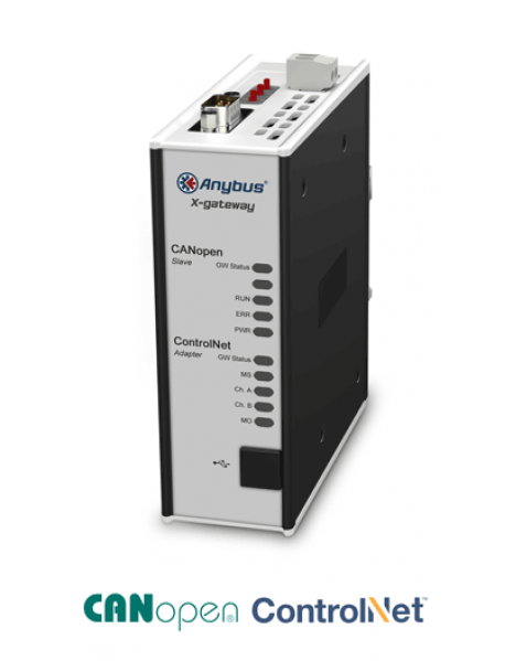 AB7868 CANopen Slave - ControlNet Adapter