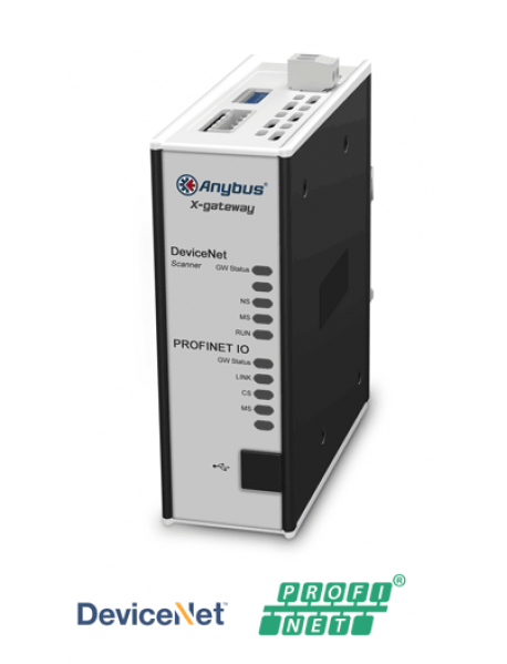 AB7647 DeviceNet Scanner/Master - PROFINET-IO Device/Slave