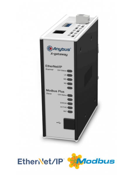 AB7679 EtherNet/IP Scanner/Master - Modbus Plus Slave