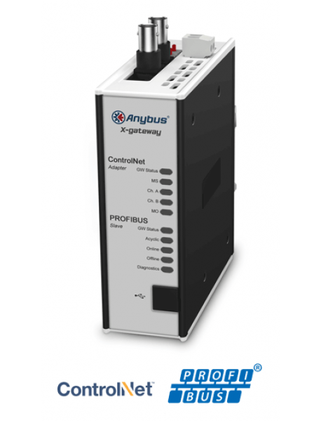 AB7845 ControlNet Adapter/Slave - PROFIBUS Slave