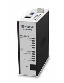 AB7553 Шлюз Anybus X-gateway IIoT – Ethernet/IP Scanner - OPC UA-MQTT