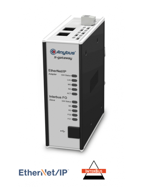 AB7837 EtherNet/IP Adapter/Slave- Interbus FO Slave
