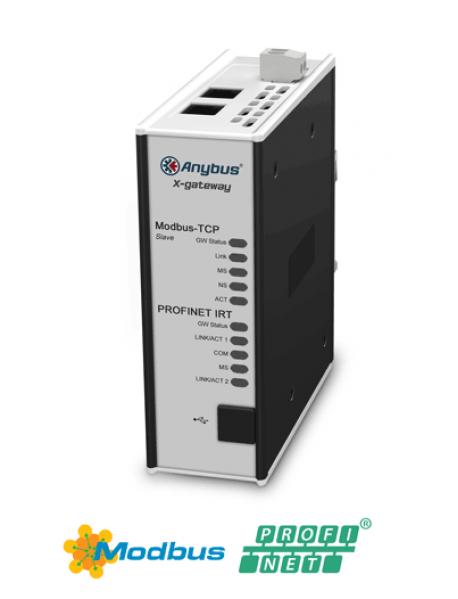 AB7505 Modbus TCP Server/Slave - PROFINET-IRT Device/Slave