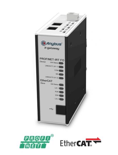 AB7970 EtherCAT Slave - PROFINET-IRT FO Device/Slave (Fiber Optic)