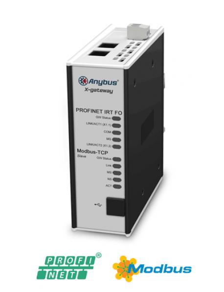 AB7979 Modbus TCP Server/Slave - PROFINET-IRT FO Device/Slave (Fiber Optic)