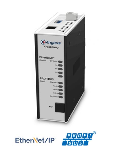 AB7671 Ethernet/IP Scanner/Master - Profibus Slave