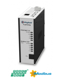 AB7650 Modbus TCP Server/Slave - Profinet IO Device/Slave