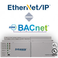 Шлюз Intesis EtherNet/IP - BACnet IP & MS/TP Server