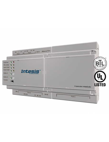 Шлюз Intesis PROFINET - BACnet IP & MS/TP Server
