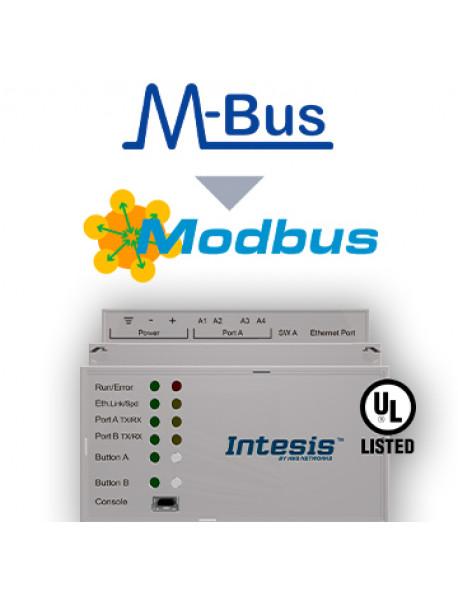 Шлюз Intesis M-BUS to Modbus TCP & RTU Server