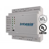 Шлюз Intesis BACnet IP & MS/TP Client to Modbus TCP & RTU Server
