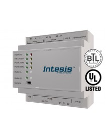 Шлюз Intesis BACnet IP & MS/TP Client to Modbus TCP & RTU Server