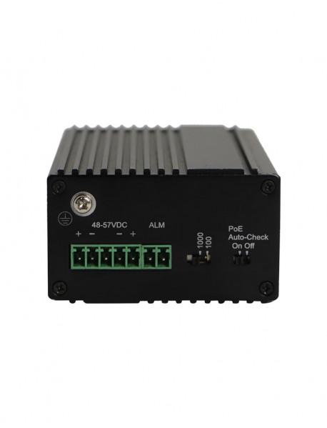 NIE6041PG 5*10/100/1000M Промышленный неуправляемый PoE коммутатор N-Net