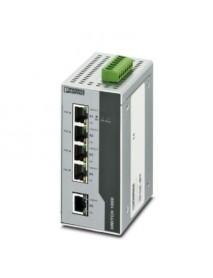 Неуправляемые коммутаторы PHOENIX CONTACT FL SWITCH 1001T-4POE с поддержкой Fast Ethernet и POE+