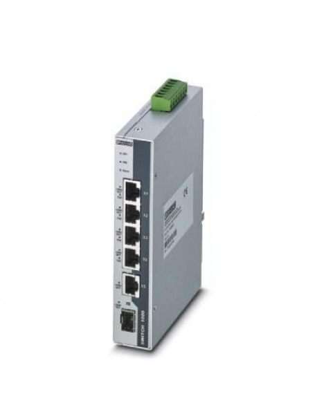 Неуправляемые POE коммутаторы PHOENIX CONTACT FL SWITCH с поддержкой Gigabit Ethernet и POE+