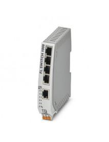 Неуправляемые коммутаторы PHOENIX CONTACT FL SWITCH 1000 с поддержкой Fast Ethernet