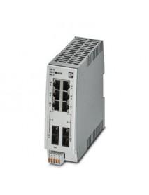 Управляемые коммутаторы PHOENIX CONTACT FL SWITCH 2200 с поддержкой Fast Ethernet и Fiber Optic