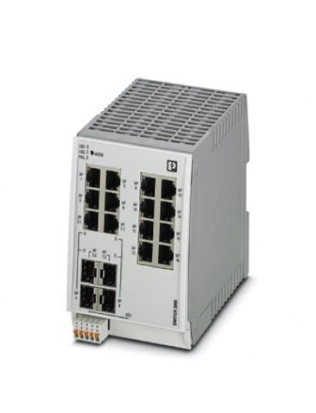 Управляемые коммутаторы PHOENIX CONTACT FL SWITCH 2200 с поддержкой Fast Ethernet и SFP/Combo портами