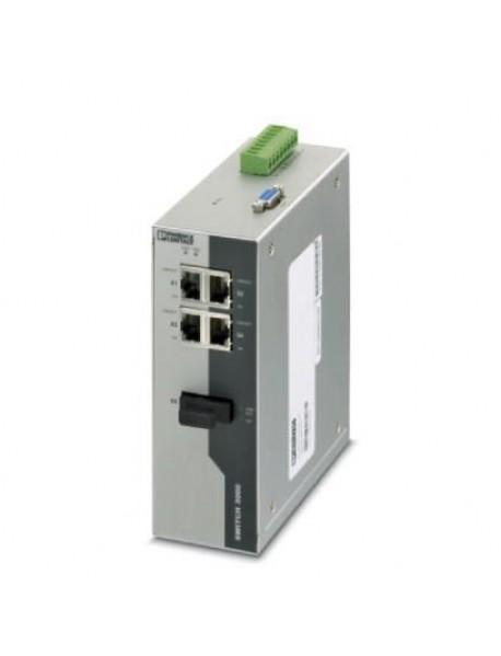 Управляемые коммутаторы PHOENIX CONTACT FL SWITCH серии 3000 с поддержкой Fast Ethernet и Fiber optic