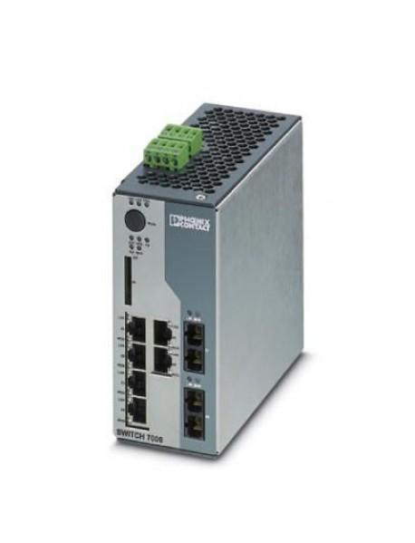 Управляемые коммутаторы PHOENIX CONTACT FL SWITCH 7000 с поддержкой Fast Ethernet и CIP