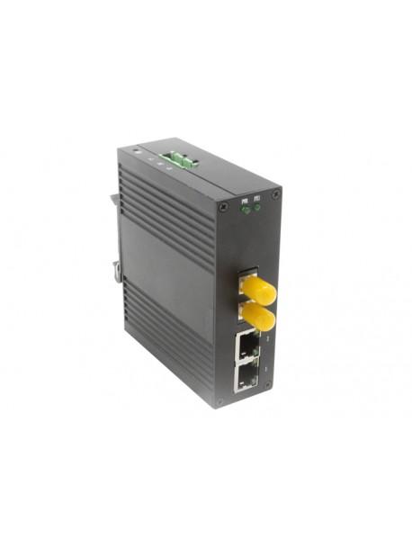 Compact Industrial Media Converter