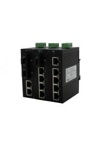 6/5/4 портовые компактные промышленные неуправляемые коммутаторы (Ethernet + FO)