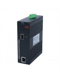 Промышленный 10/100/1000 Ethernet Медиаконвертер