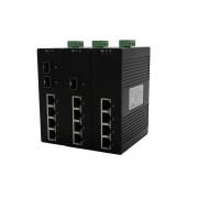 Неуправляемые Ethernet Коммутаторы на DIN-рейку