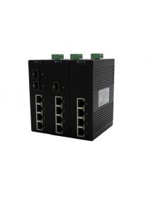 6 портовые промышленные Ethernet Коммутаторы с 1000M SFP слотами