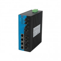 8 портовые промышленные коммутаторы (Ethernet + FO)