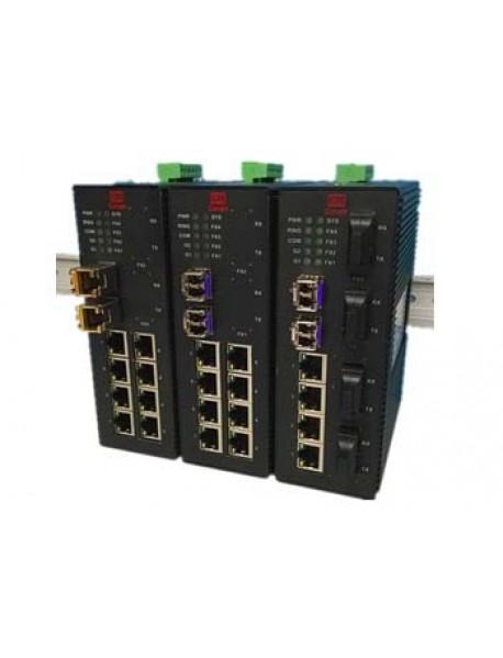 8 портовые промышленные Ethernet Коммутаторы