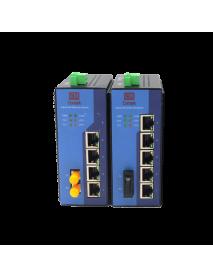 5/6 портовые управляемые Gigabit Ethernet Коммутаторы (Ethernet + FO)
