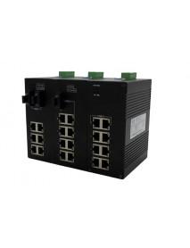 """8 портовые промышленные Ethernet Коммутаторы с поддержкой топологии оптической сети типа """"Кольцо"""""""