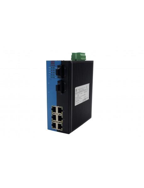 8-портовый управляемый Ethernet Коммутатор