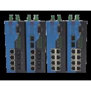 Управляемые Ethernet Коммутаторы SZComark на DIN-рейку